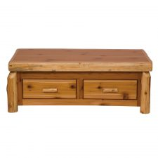 14110 Enclosed Coffee Table - With Elvating Top- std finish-