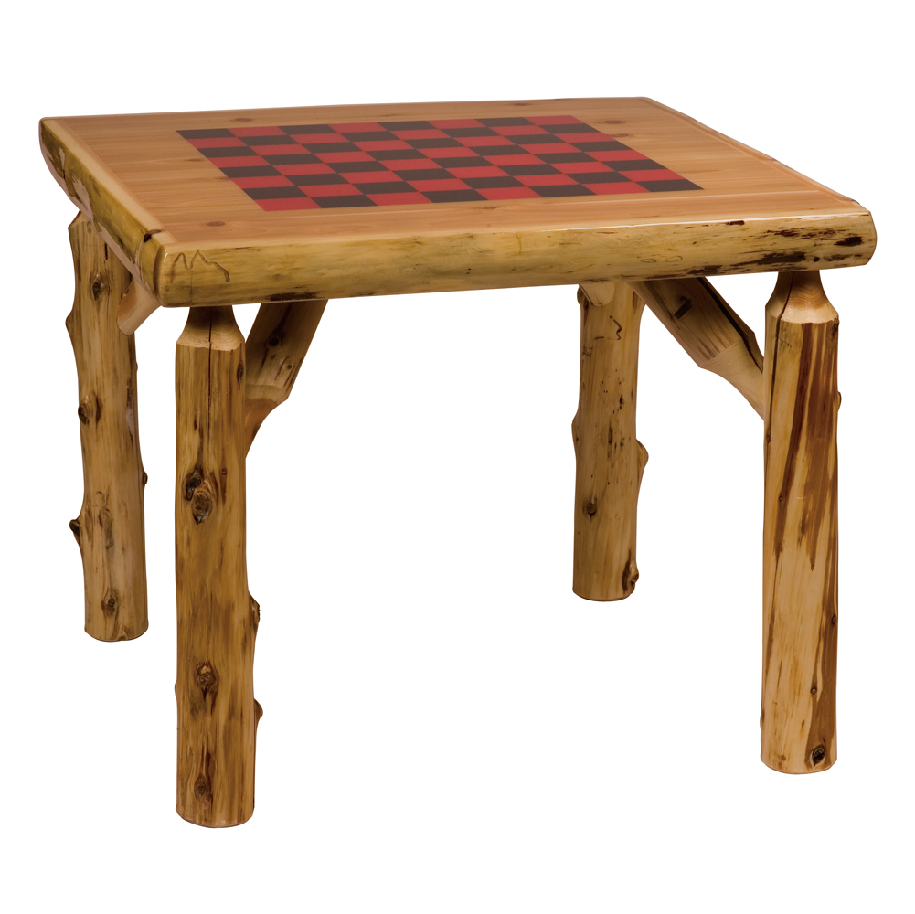 Wood Dining Table | RUSTICS Log and Country Furniture-Bethel ...