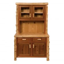 16185 Buffet and Hutch 48 inch Traditional Cedar