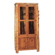 16801 8-Gun Cabinet- Cedar