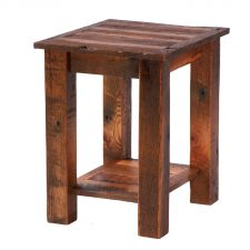 B14010 Barnwood Open End Table - Barnwood Legs