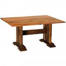 B15116 Rect Harvest Barnwood Dining Table - 60x42 std finish