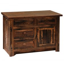 B33034- BT Barnwood Vanity 3 ft. with Barnwood Edged - Lamin